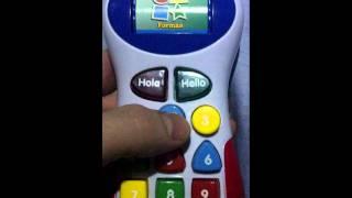móvil de juguete que habla en chino
