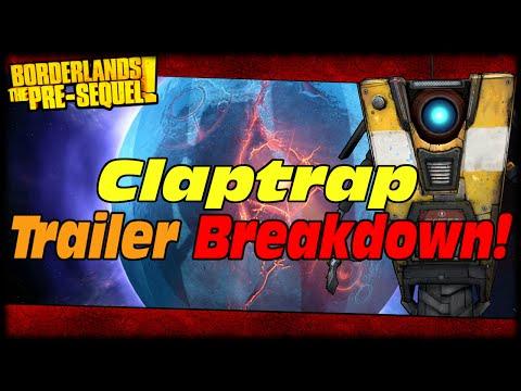 Borderlands The Presequel Claptrap Reveal Trailer Rapid Fire Breakdown! Tiny Tina's Mom!?!?
