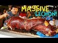 MIND BLOWING Lechon(Roast Pig) in Cebu Philippines! First Time Trying Roast Suckling Pig