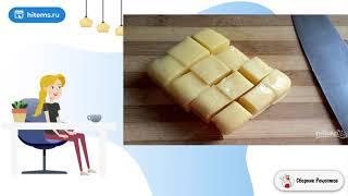 Булочки с сыром Сюрприз Правильные рецепты