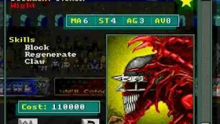 IE 14 PC game review - Bloodbowl (1995)