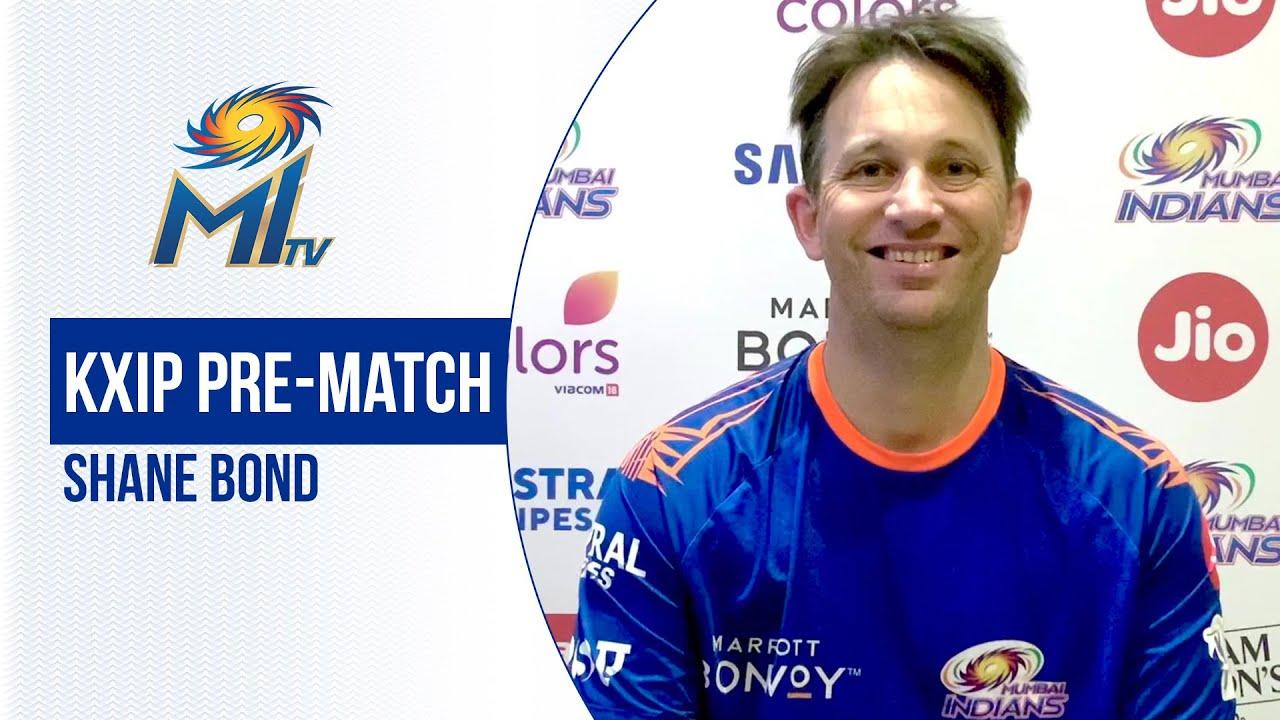 Pre-match KXIP vs MI - Shane Bond | पंजाब मैच पर बातचीत | Dream11 IPL 2020