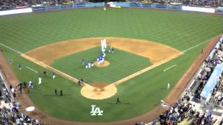 June 15, 2012 - Dodgers win!!