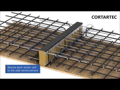 Juntas de isolamento termico - Isotec Insulated Balcony Connectors