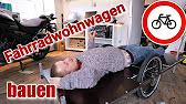 Bodenplatte Und Gerippe F3 Diy Fahrradwohnwagen Bauen Youtube