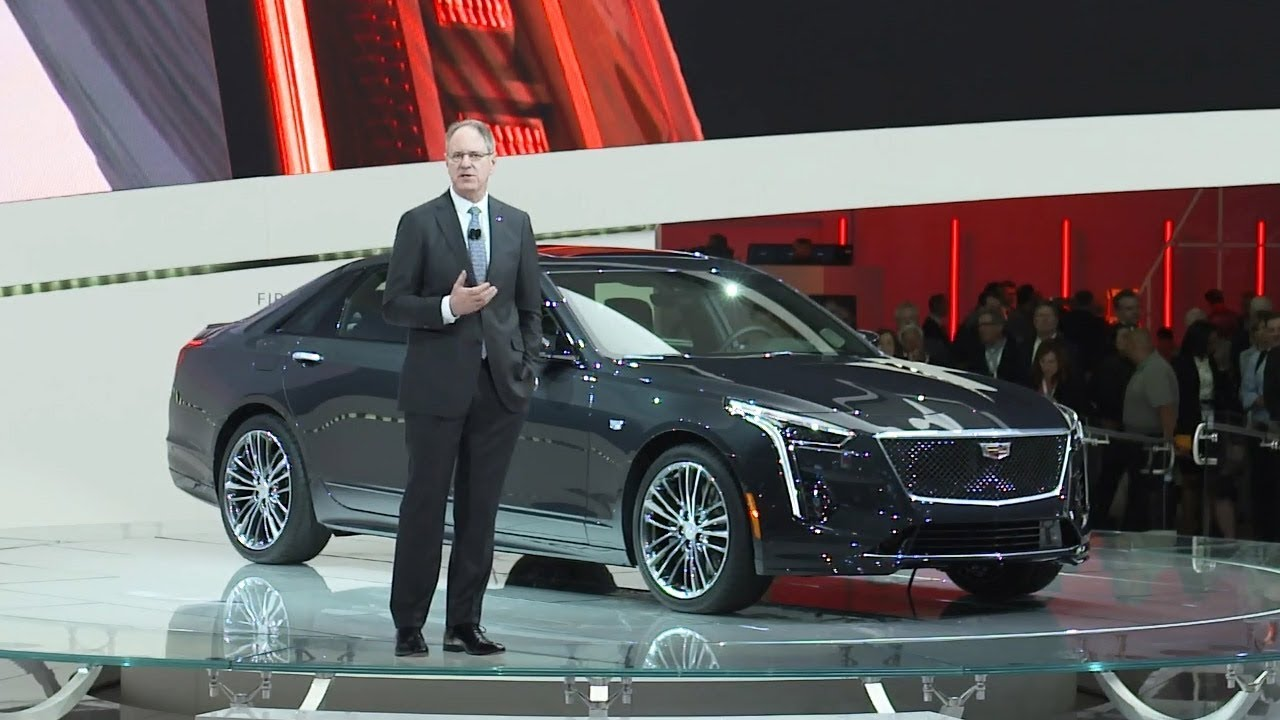 2019 Cadillac Ct6 V Sport Unveiled At The New York Auto Show Youtube