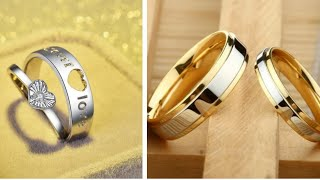 25+ Amazing New Fashion Awesome Couple Ring Designs For Inspiration 2018 || Latest couple Rings