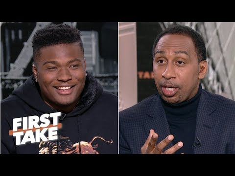 'I feel like I'm the best quarterback' in the 2019 NFL draft - Dwayne Haskins | First Take