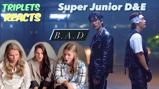SUPER JUNIOR-D&E (슈퍼주니어-D&E) 'B.A.D' MV REACTION!!! …