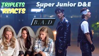 SUPER JUNIOR-D&E (슈퍼주니어-D&E) 'B.A.D' MV REACTION!!! …