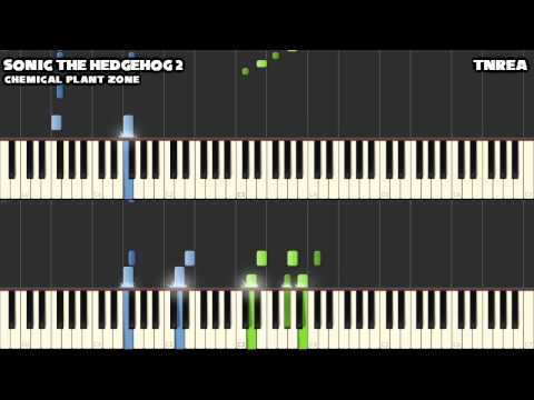 Sonic the Hedgehog 2 - Chemical Plant Zone - for Piano