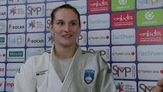 Klara APOTEKAR (SLO) Gold Judo Tel Aviv GP 19