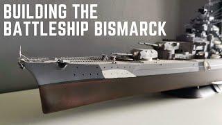 1/350 Bismarck Battleship Model Revell tarafından İnşa Seti