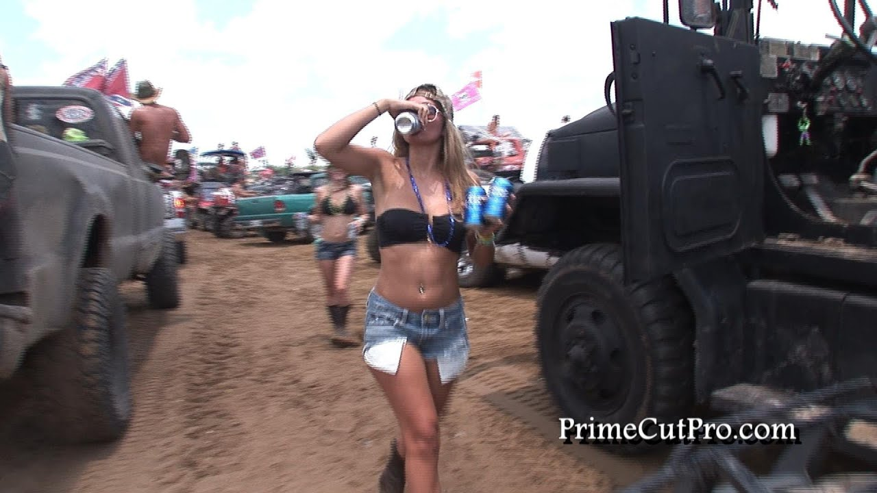 Truck Mud Tires >> Redneck Yacht Club - Daytime Hanging Out - YouTube