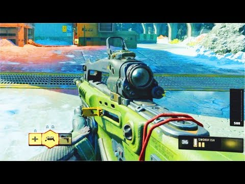 """THE NEW M8A7! 😱- Call of Duty: Black Ops 4 """"SWORDFISH"""" AR Multiplayer Gameplay! (BO4 Multiplayer)"""