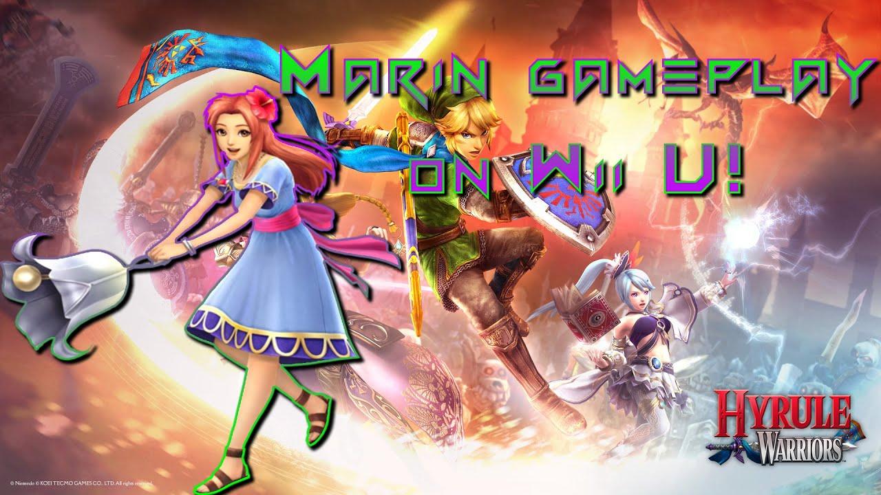 Hyrule Warriors Marin Wii U Gameplay Links Awakening Dlc Pack Hyrule Warriors Legends Youtube