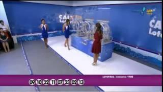 Resultado da Lotofácil concurso 1180 dia 09/03/2015 (Momento da Sorte - RedeTV)