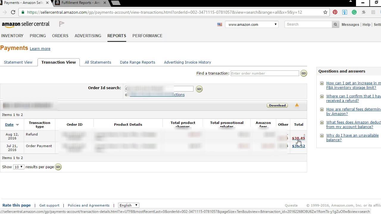 Amazon Seller Reimbursements - Amazon FBA Reimbursements