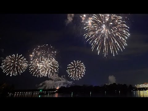 Our Private Fireworks Cruise At Disney World! | 4th of July Fireworks, Food & Friends!