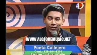 """Poeta Callejero interpretando casi llorando su nuevo tema """"Historia De Amor"""""""