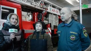 """Передача о профориентации """"Сегодня я..."""" Пожарный"""