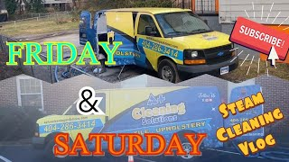 CARPET STEAM CLEANING *new giveaway question *Pay Attention *ENJOY 😊