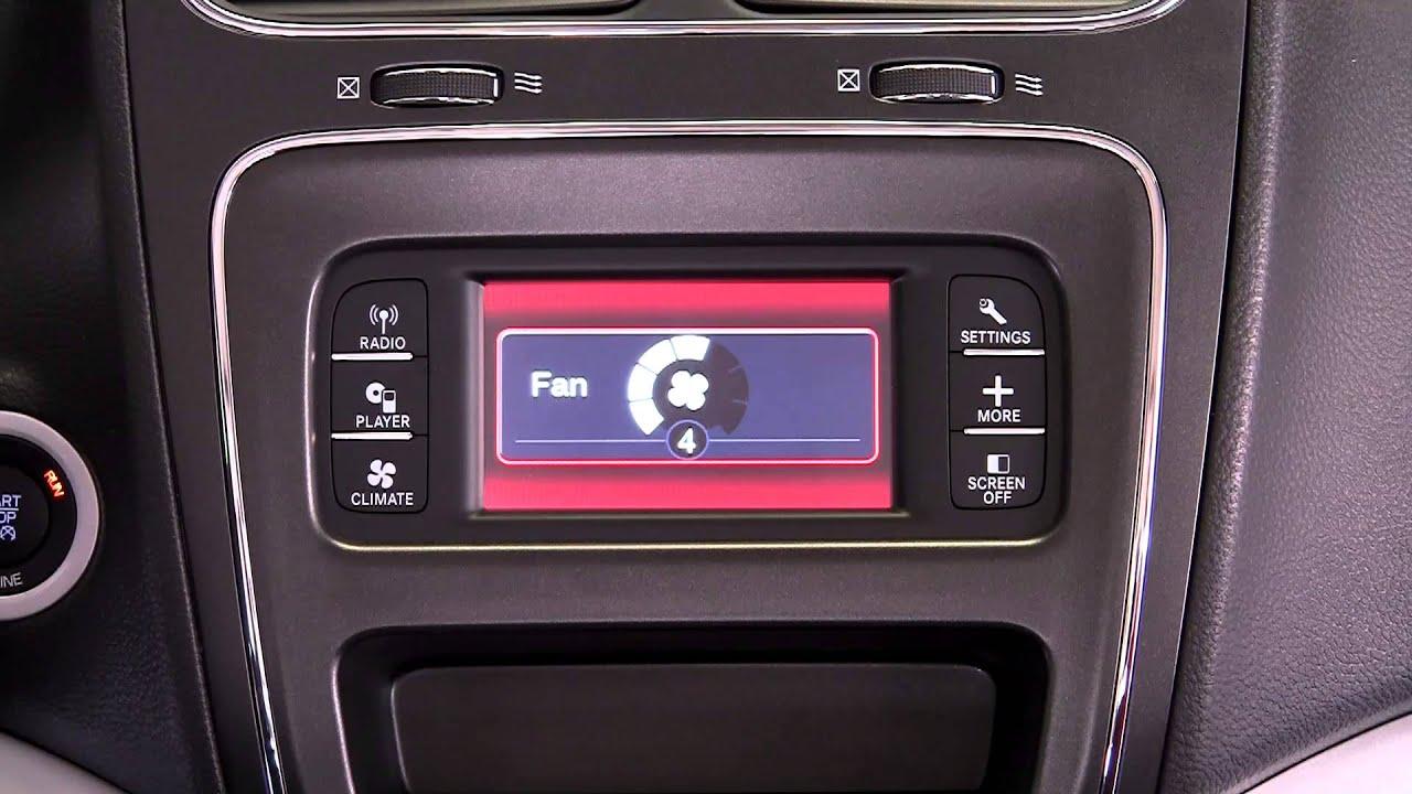 2014 Dodge Journey Stereo