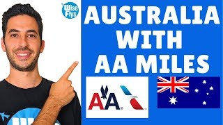 $28 Flight To Australia With American Airline Miles | Which Cards?
