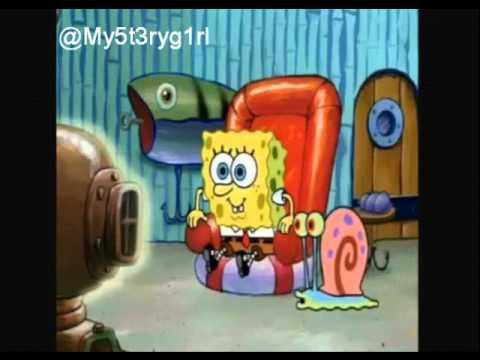spongebob watching tv gif. spongebob watching tv. tv gif b