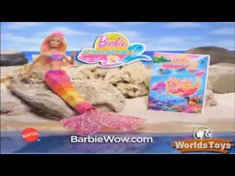 2012 ° BARBIE™ IN A MERMAID TALE 2 MERLIAH™ 2 in 1 Doll Commercial