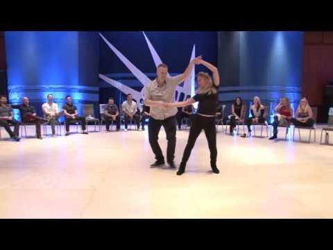 Kyle Redd & Victoria Henk  Liberty Swing 2017 Johnvitational Jack & Jill 1st Place