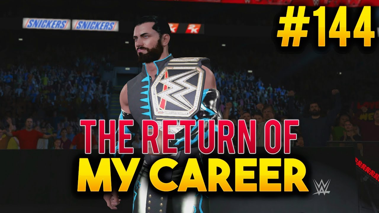 how to become champion on wwe 2k17 on career mode