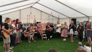 RETHINK Folk Music - Students from Riga (Latvia) perform a traditional chant song