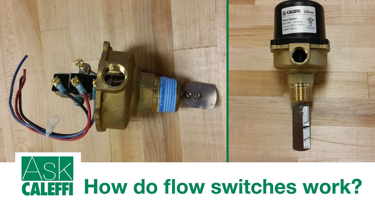 Water flow switch: device, principle of operation instructions for connecting 33