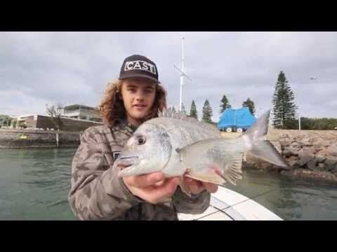 Bream Fishing Newcastle Harbour