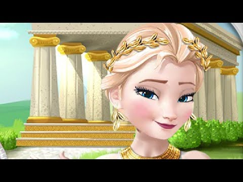 Elsa Time Travel Ancient Greece Online Games