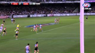 Chris Yarran - Goal of the Year nomination Round 8
