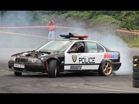 Policie driftovala v Ostravě! POLICE drifting!