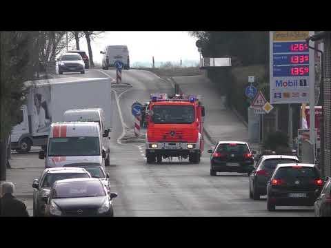 Einsatzfahrt FF Klein Winterheim Und Nieder Olm Sowie Rettungsdienst LK Mainz Bingen