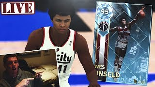 SUPER MAX GRIND WITH 2 DIAMOND ON MYTEAM - NBA 2K18 LIVESTREAM!! thumbnail