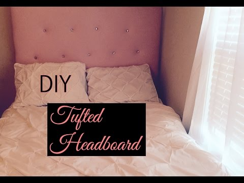 Diy Tufted Headboard On Budget