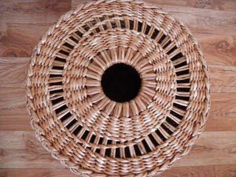 Плетеные короба из лозы