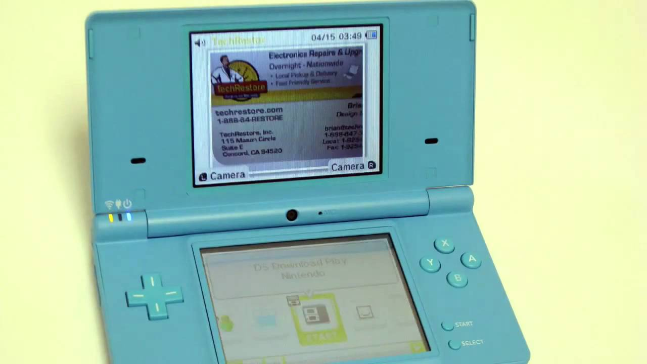 nintendo dsi disassembly by techrestore youtube rh youtube com Nintendo DSi Logo Nintendo DSi Logo