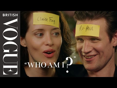 """Claire Foy and Matt Smith Play """"Who Am I?"""" 