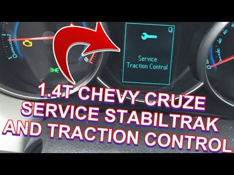 Service Stabiltrak Traction Control 1.4T Chevy Cruze Try This First!