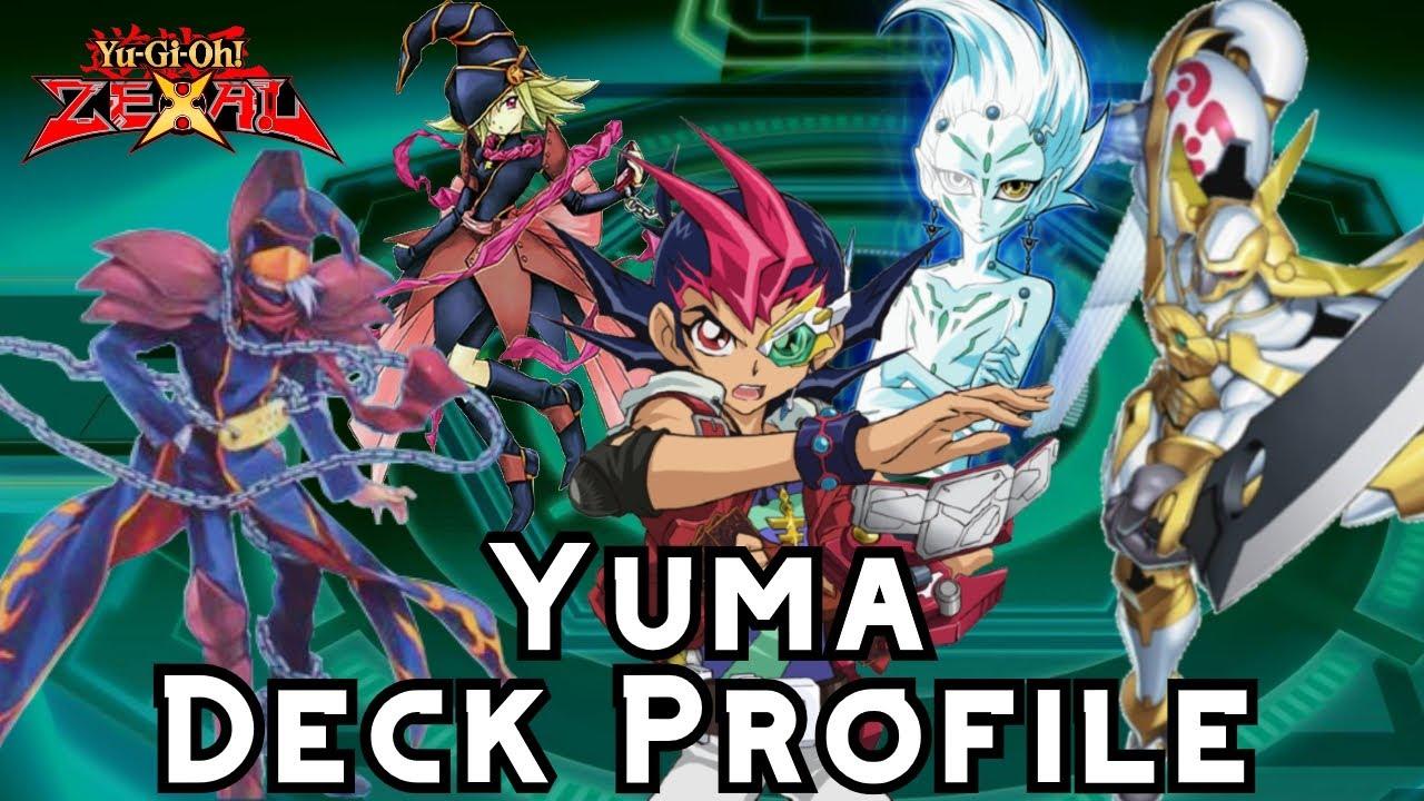 yugioh zexal 40 card yuma tsukamo deck profile  youtube