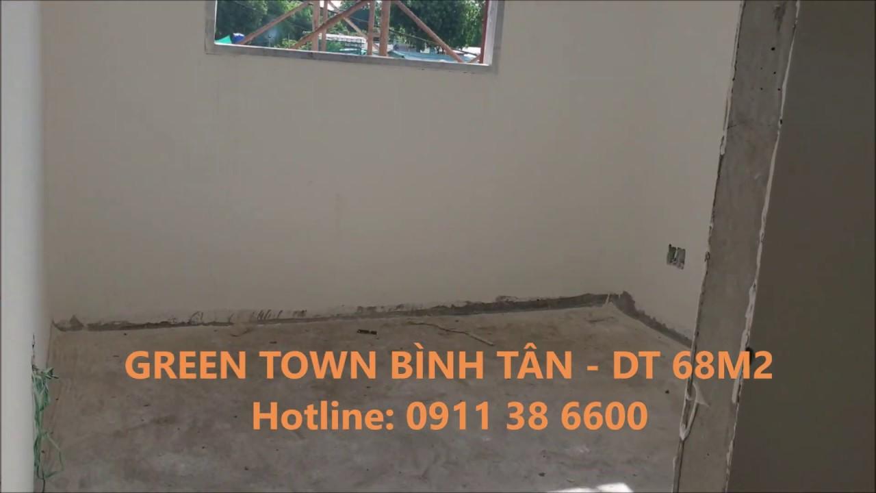 Căn hộ Green Town Bình Tân dt 68m2/2PN,2WC – LH: 0911386600