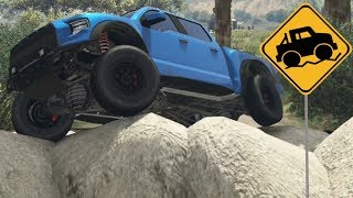 GTA 5 - Off-Road Capability - Vapid Caracara 4x4 (Ford Raptor)