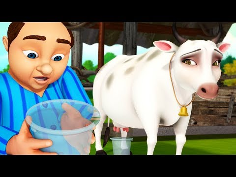 ললাজি আর গরু - Lalaji Rhymes   Bengali Rhymes for Children   Infobells