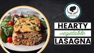 How to Make Hearty Vegetable Lasagna   Afro-Vegan Society Cooking Demo